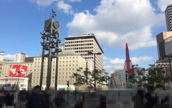 JR大阪駅のカリヨン広場