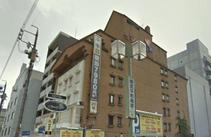 名古屋のラブホテル